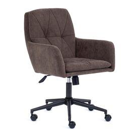 Компьютерное кресло Garda флок коричневый 6 TetChair, Цвет товара: Коричневый
