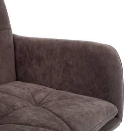 Компьютерное кресло Garda флок коричневый 6 TetChair, Цвет товара: Коричневый, изображение 7