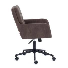Компьютерное кресло Garda флок коричневый 6 TetChair, Цвет товара: Коричневый, изображение 3