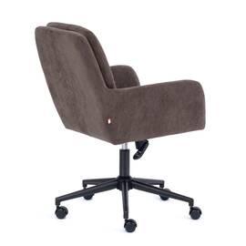 Компьютерное кресло Garda флок коричневый 6 TetChair, Цвет товара: Коричневый, изображение 4