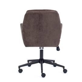 Компьютерное кресло Garda флок коричневый 6 TetChair, Цвет товара: Коричневый, изображение 5