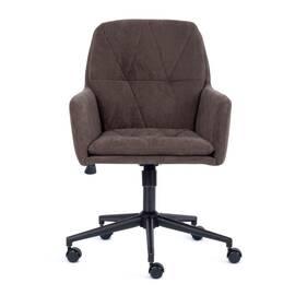 Компьютерное кресло Garda флок коричневый 6 TetChair, Цвет товара: Коричневый, изображение 2