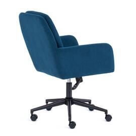 Компьютерное кресло Garda флок синий 32 TetChair, Цвет товара: Синий, изображение 3