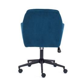 Компьютерное кресло Garda флок синий 32 TetChair, Цвет товара: Синий, изображение 4