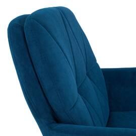 Компьютерное кресло Garda флок синий 32 TetChair, Цвет товара: Синий, изображение 5