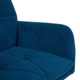 Компьютерное кресло Garda флок синий 32 TetChair, Цвет товара: Синий, изображение 6