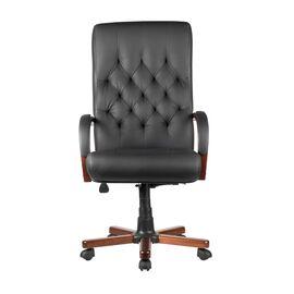 Компьютерное кресло для руководителя Riva Chair M 175 A Чёрный, Цвет товара: Черный, изображение 3
