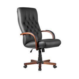 Компьютерное кресло для руководителя Riva Chair M 175 A Чёрный, Цвет товара: Черный