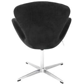 Кресло Swan Chair графит искусственная замша Bradex Home, Цвет товара: Графит, изображение 5