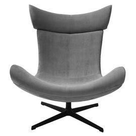 Кресло IMOLA серый искусственная замша Bradex Home, Цвет товара: Серый, изображение 2