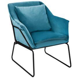 Комплект кресло и оттоманка ALEX бирюзовый Bradex Home, Цвет товара: Бирюзовый, изображение 2