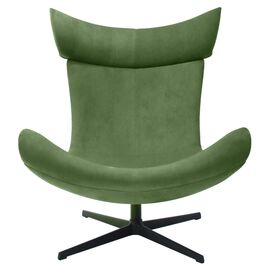 Кресло IMOLA зеленый искусственная замша Bradex Home, Цвет товара: Зеленый, изображение 2
