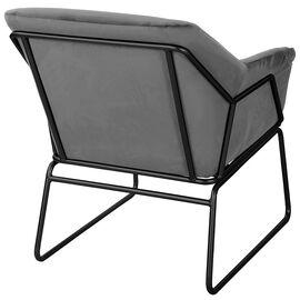 Кресло ALEX серый Bradex Home, Цвет товара: Серый, изображение 3