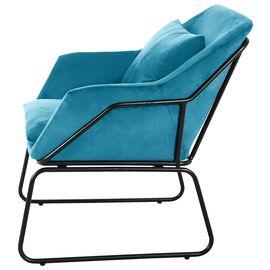 Комплект кресло и оттоманка ALEX бирюзовый Bradex Home, Цвет товара: Бирюзовый, изображение 3