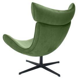 Кресло IMOLA зеленый искусственная замша Bradex Home, Цвет товара: Зеленый, изображение 4