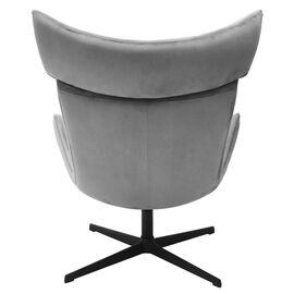 Кресло IMOLA серый искусственная замша Bradex Home, Цвет товара: Серый, изображение 5