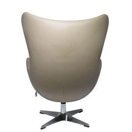 Кресло EGG CHAIR латте прессованная кожа Bradex Home, изображение 3