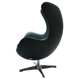 Кресло EGG CHAIR зеленый прессованная кожа Bradex Home, Цвет товара: Зеленый, изображение 2