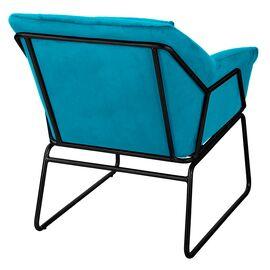 Комплект кресло и оттоманка ALEX бирюзовый Bradex Home, Цвет товара: Бирюзовый, изображение 4
