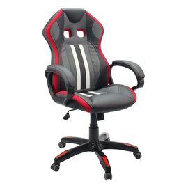 Кресло для геймеров Dikline KD37H-15 Красный, Цвет товара: Чёрный / Красный