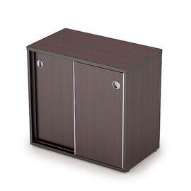 Шкаф-купе для документов низкий AVANCE 6ШКЗ.017 Венге 800х400х750 ( с замком ), Цвет товара: Венге