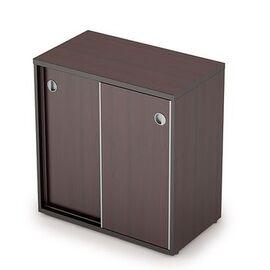 Шкаф-купе для документов низкий без замка AVANCE ALSAV 6ШК.010 Венге 700х400х750, Цвет товара: Венге