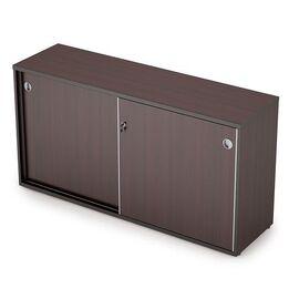 Шкаф-купе для документов низкий удлиненный AVANCE 6ШК.012 Венге 1435х400х750 (без замка), Цвет товара: Венге