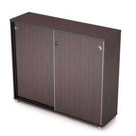 Шкаф-купе для документов средний удлиненный AVANCE ALSAV 6ШКЗ.014 1437х400х1205 Венге ( с замком ), Цвет товара: Венге
