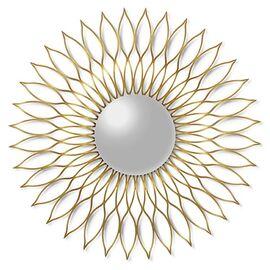 Зеркало-солнце в металлической раме Helios (Гелиос) Art-zerkalo