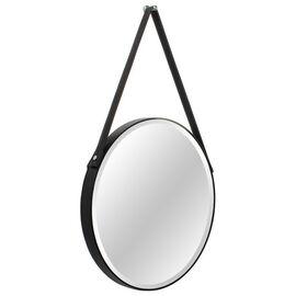 Зеркало настенное на кожаном ремне Loft (Лофт) Art-zerkalo