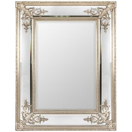 Зеркало настенное в раме Lord Silver (Лорд) Art-zerkalo