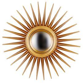 Зеркало-солнце Star Gold (Звезда) Art-zerkalo