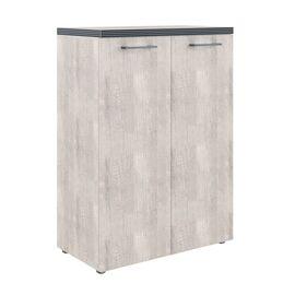 Шкаф для документов с глухими средними дверьми и топом TMC 85.1 Дуб Каньон 850х1165х430 Torr, Цвет товара: Дуб Каньон