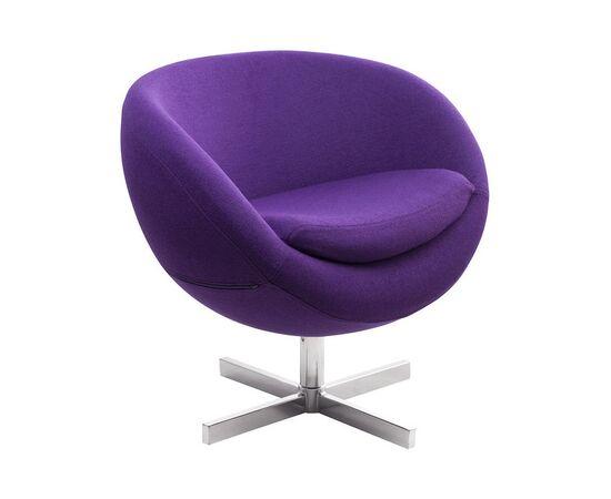 Дизайнерское кресло A686 фиолетовое Beonmebel, Цвет товара: Фиолетовый