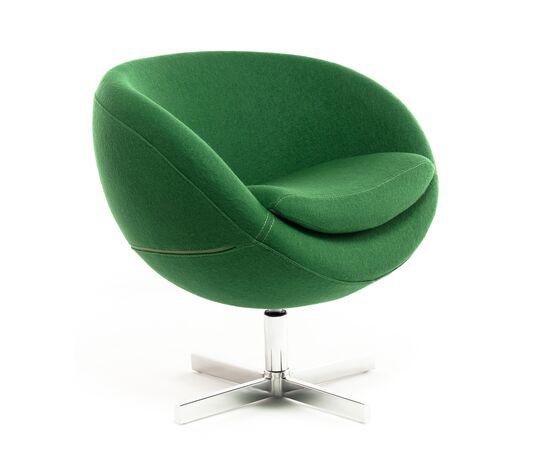 Дизайнерское кресло A686  зеленое Beonmebel, Цвет товара: Зеленый