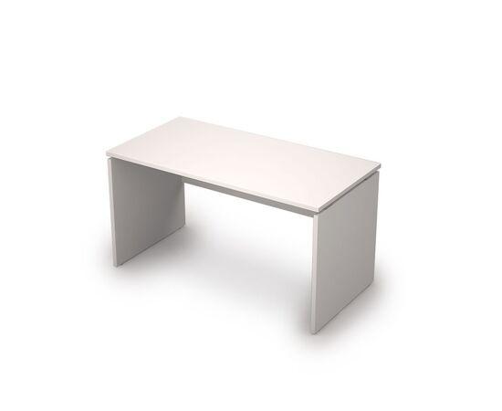 Стол прямой письменный AVANCE ALSAV 6С.009 Белый 1400х700х750, Цвет товара: Белый