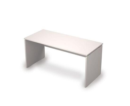 Стол прямой письменный AVANCE ALSAV 6С.004 Белый 1600х700х750, Цвет товара: Белый