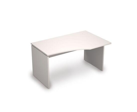 Стол криволинейный письменный правый угол AVANCE ALSAV 6С.023 Белый 1400х900х750, Цвет товара: Белый