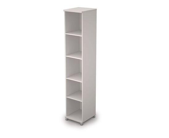 Стеллаж для документов узкий высокий AVANCE ALSAV 6П.005 Белый 400х450х2116, Цвет товара: Белый