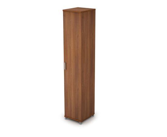 Шкаф для документов узкий закрытый AVANCE 6П.005.1 Шамони темный 400х450х2116, Цвет товара: Шамони темный