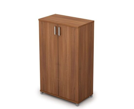 Шкаф для документов средний закрытый AVANCE 6Ш.017.1 Шамони темный 800х450х1348, Цвет товара: Шамони темный