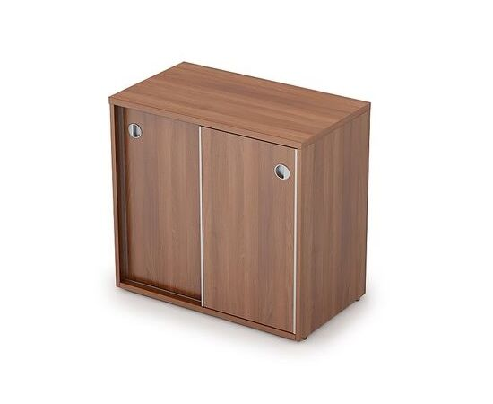 Шкаф-купе для документов низкий AVANCE 6ШК.017 Шамони темный 800х400х750 (без замка), Цвет товара: Шамони темный