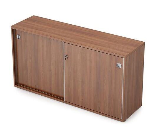 Шкаф-купе для документов низкий удлиненный AVANCE 6ШК.012 Шамони темный 1435х400х750 (без замка), Цвет товара: Шамони темный
