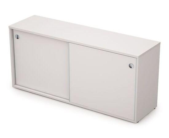 Шкаф-купе для документов низкий длинный с замком AVANCE ALSAV 6ШКЗ.018 Белый 1635х400х750, Цвет товара: Белый