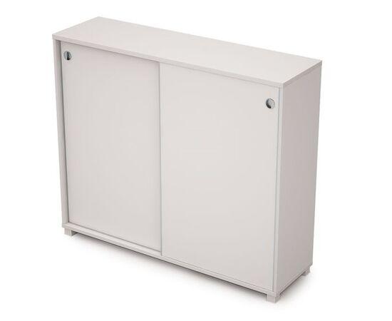 Шкаф-купе для документов средний удлиненный AVANCE ALSAV 6ШК.014 Белый 1437х400х1205 (без замка), Цвет товара: Белый