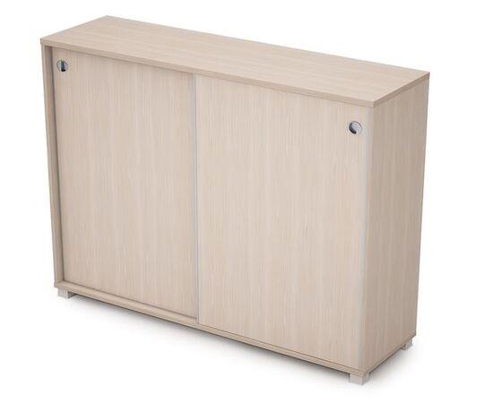 Шкаф-купе для документов средний длинный AVANCE ALSAV 6ШК.019 Шамони светлый 1637х400х1205 (без замка), Цвет товара: Шамони светлый