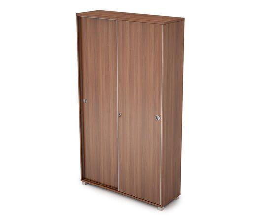 Шкаф-купе для документов высокий (с замком) AVANCE ALSAV 6ШКЗ.015 Шамони темный 1200х400х2116, Цвет товара: Шамони темный