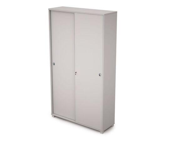 Шкаф-купе для документов высокий (с замком) AVANCE ALSAV 6ШКЗ.015 Белый 1200х400х2116, Цвет товара: Белый