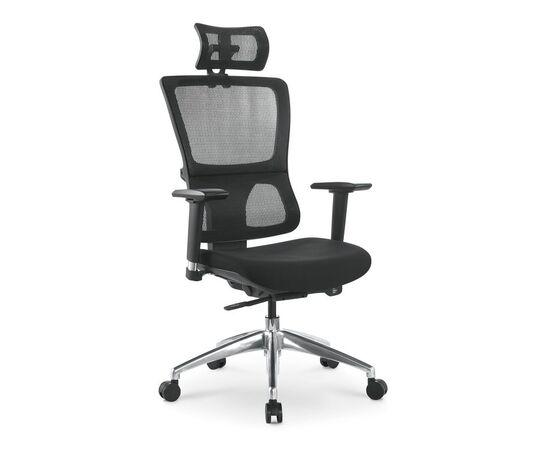 Компьютерное кресло для руководителя Everprof Everest S сетка черный, Цвет товара: Черный