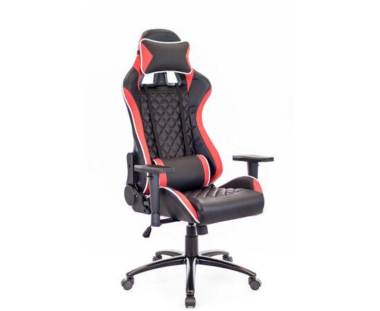 Кресло игровое Lotus S11 Everprof экокожа черный/красный